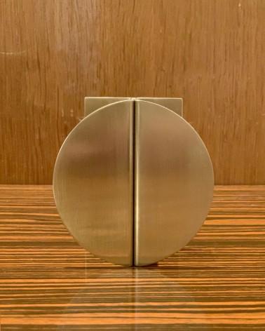 Poignée laiton made in France demi cercle pour personnaliser placards, cuisine, meuble de salle de bain, commode