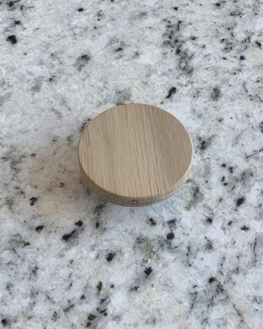 Grande poignée en chêne, design by Boost My Design, fabriquée en France par un menuisier