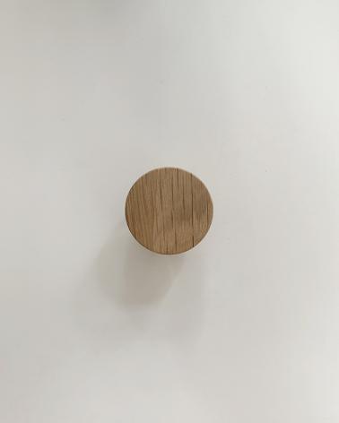 Petite poignée en chêne Boost My Design, fabriquée en France par un menuisier