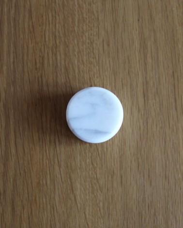 Superbe poignée en marbre de carrare fabriquée à la main en France Boost My Design