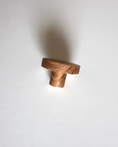 Petite poignée fabriquée en France et en chêne Boost My Design, détail côté