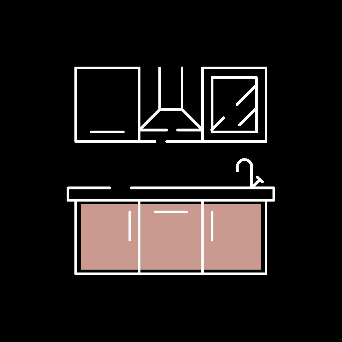 Facades en bois pour cuisine, dressing, salle de bain, placards IKEA